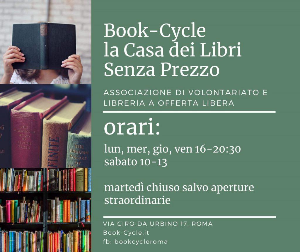 Libreria A Porta Di Roma book-cycle, il ri-ciclo del libro - associazione di
